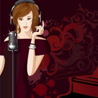 Logo of radio station JAZZRADIO.com - Contemporary Vocals