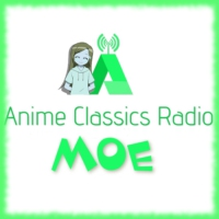 Logo of radio station Anime Classics Radio MOE