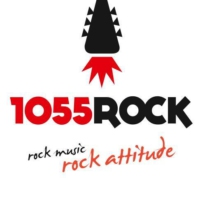 Logo of radio station 1055 Rock