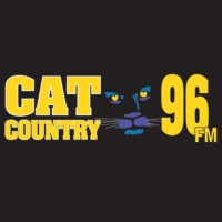 Logo of radio station WCTO Cat Country 96 FM