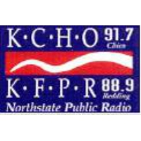 Logo of radio station KCHO/KFPR NPR 91.7 FM