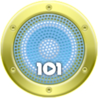 Logo of radio station 101.ru - УКРАИНА