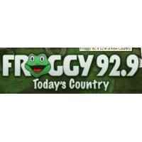 Logo of radio station KXFG - FM