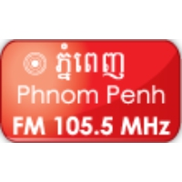Logo of radio station Tonle FM 105.5