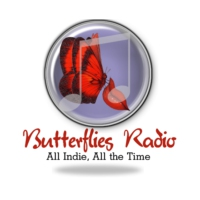 Logo of radio station Butterflies Radio