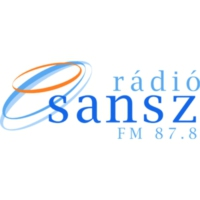 Logo of radio station Rádió Sansz