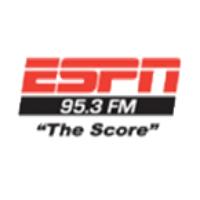 Logo of radio station KUJZ The Score ESPN