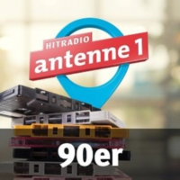 Logo of radio station antenne 1 90er
