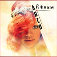 Logo of radio station ABCD Rihanna