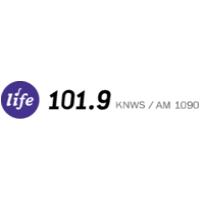 Logo of radio station KNWS AM 1090 AM