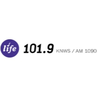 Logo of radio station KNWS AM 1090 AM