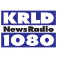 Logo of radio station KRLD Newsradio 1080 AM
