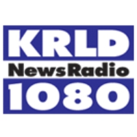 Logo of radio station KRLD Newsradio 1080 AM