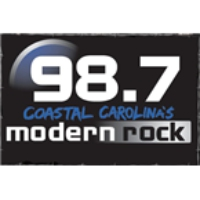 Logo of radio station WRMR Modern Rock 98.7