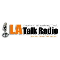 Logo of radio station LA Talk Radio