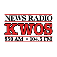 Logo of radio station KWOS News Radio