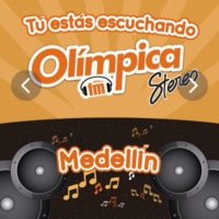 Logo of radio station Olímpica Stereo 104.9 FM - Medellín