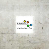Logo de la radio WVUM-FM [90.5 The Voice of UM]