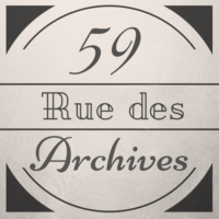Logo of the podcast 59, Rue des archives