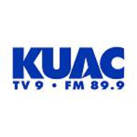 Logo of radio station KUAC