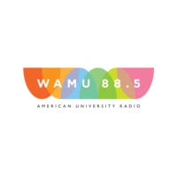Logo of radio station WAMU