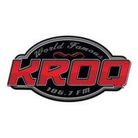 Logo of radio station KROQ 106.7