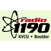 Logo of radio station KVCU