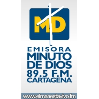 Logo of radio station Minuto de Dios - Cartagena 89.5 FM