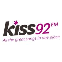Logo of radio station Kiss92 FM