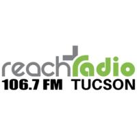 Logo of radio station 690 KCEE Reach Radio