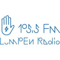 Logo of radio station WLPN-LP Lumpen Radio 105.5 FM