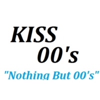 Logo of radio station KISS FM 00's