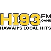 Logo of radio station KQMQ-FM HI93