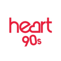 Logo of radio station Heart 90s