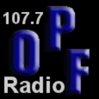Logo of radio station OPF Radio 107.7fm