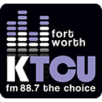 Logo of radio station KTCU The Choice