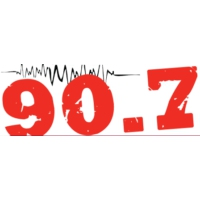 Logo of radio station WGCC The music FM 90.7