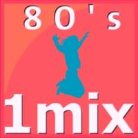 Logo of radio station 1Mix Radio 80s