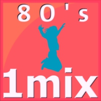 Logo of radio station 1Mix Radio 80s