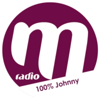 Logo of radio station M Radio 100% Johnny
