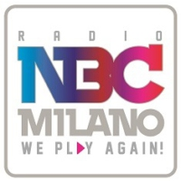 Logo of radio station NBC Milano