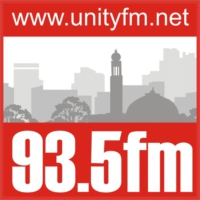 Logo of radio station Unity FM 93.5