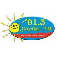 Logo of radio station 91.3 Capital Radio FM Uganda