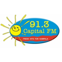 Logo of radio station 91.3 Capital Radio FM Uganda
