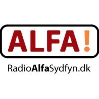Logo of radio station Radio Alfa Sydfyn 106.5 FM