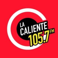 Logo of radio station XHXT La Caliente 105.7 FM