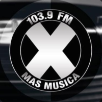 Logo of radio station La X Más Música 103.9 FM