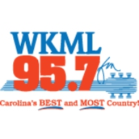 Logo of radio station WKML 95.7