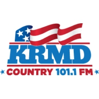Logo of radio station 101.1 KRMD