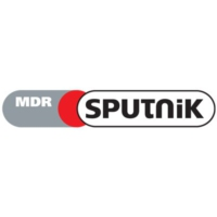 Logo of radio station MDR Sputnik Black